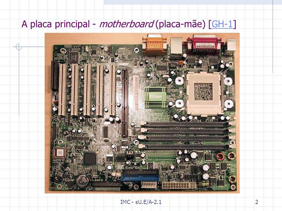 A placa principal - motherboard (placa-mãe) [GH-1]